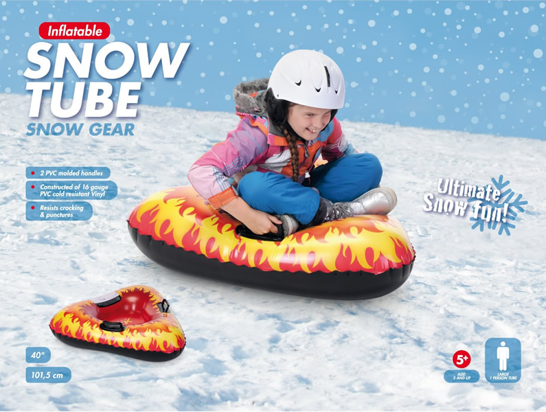 Triangle Snow Tube