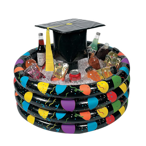 Graduation Inflatable Cooler For Party