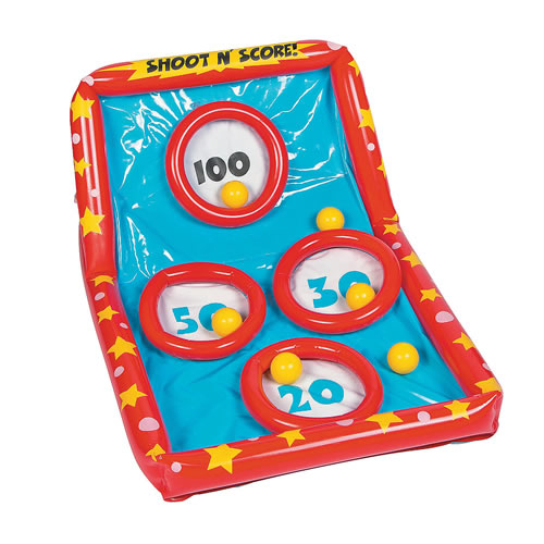 Inflatable Shoot N' Score Game