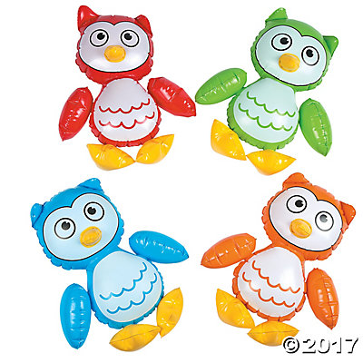 Inflatable Owl Characters