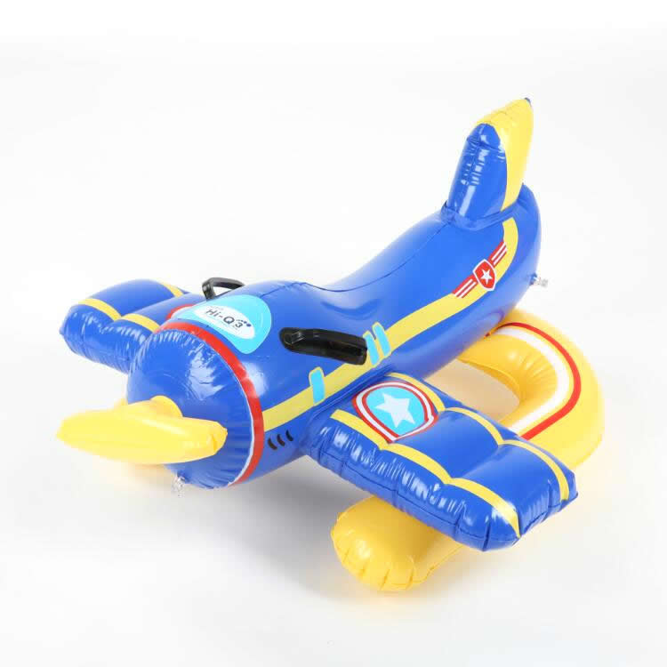 PVC Inflatable airplane rider water toys