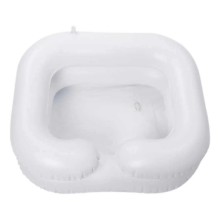 Inflatable Hair Washing Basin Portable Salon Household Bed Rest Elder People Pregnant Hair Dyes