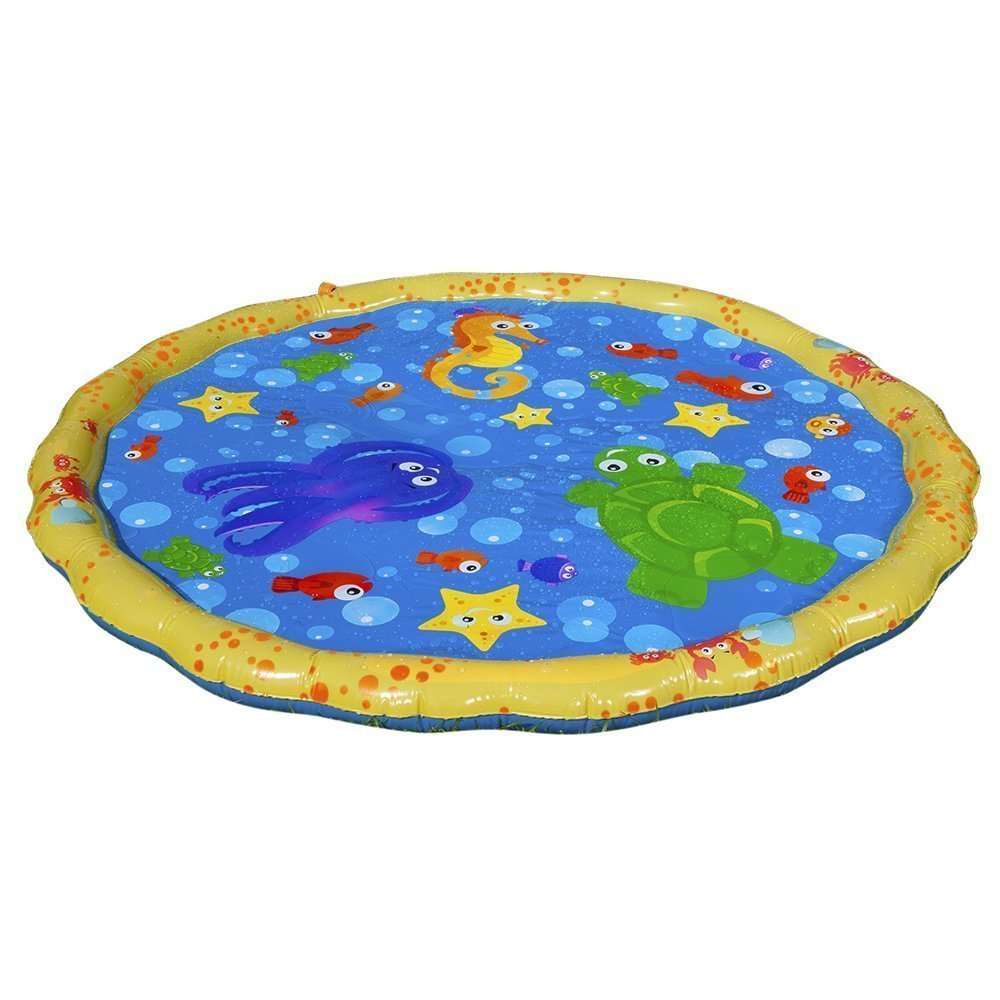 water-filled sprinkler mat Sprinkle and Splash Play Mat