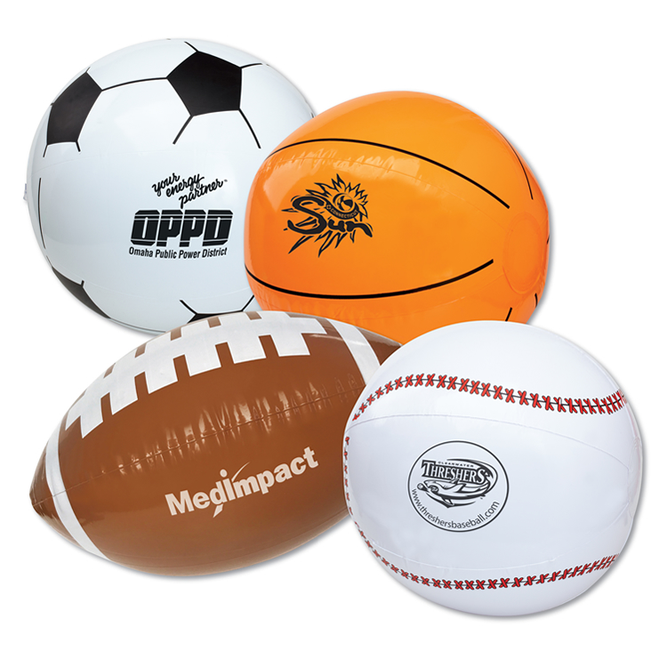 16inch Inflatable sports Beach Balls for Promotion