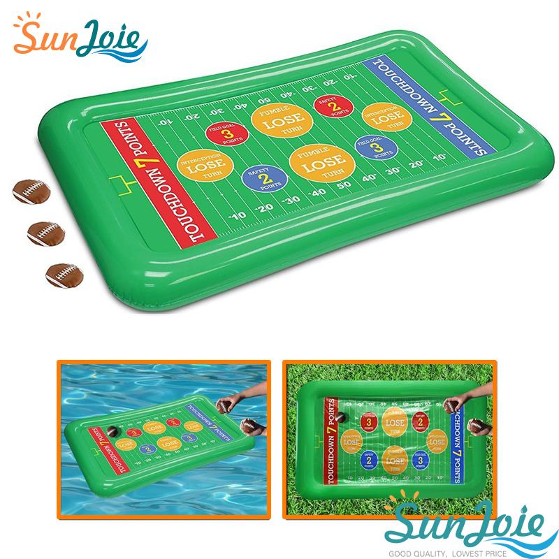 Water Game Inflatable Football Toss Game