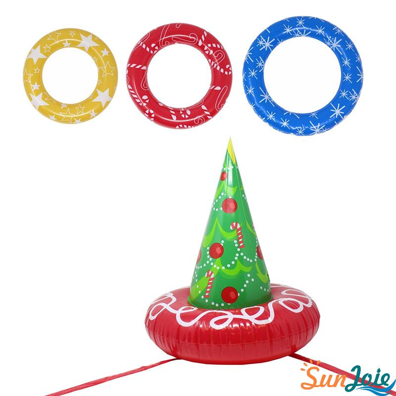 Inflatable Christmas Tree Toss Game for Christmas Parties Games