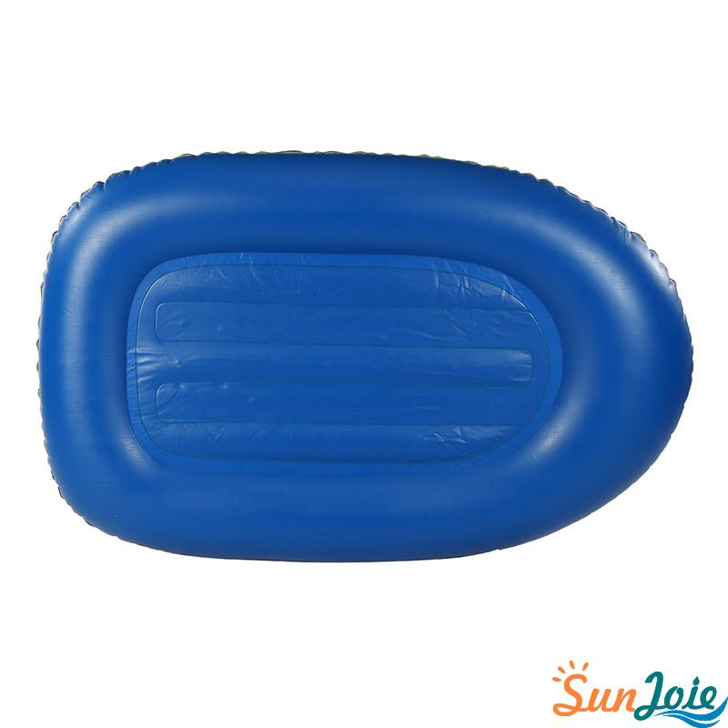 PVC Single Person Inflatable Boat Kayak Canoe Raft Rubber Dinghy
