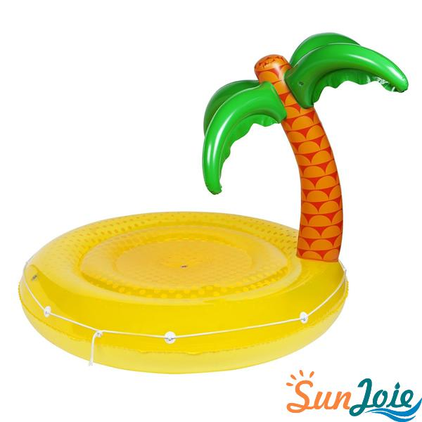 Tropical Island   Luxe Twin Round Float