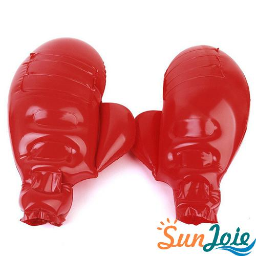 Children Inflatable Boxing Glove Toy Kid Adult Exercise Mega Mitten Decoration
