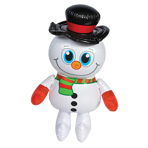 Rhode Island Novelty New 24 Inflatable Frosty Snowman Winter Christmas Decoration