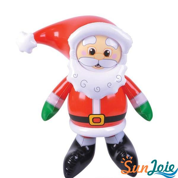 Customize PVC Inflatable Santa Claus Christmas Decorations Toys
