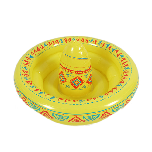 Inflatable Sombrero Hat Cooler
