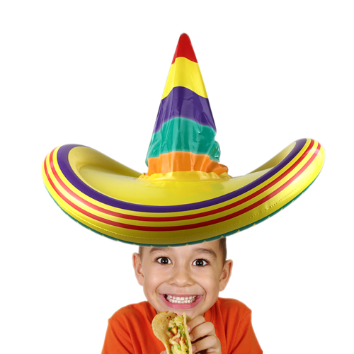 Inflatable Sombrero Hat for Kids Party Toys