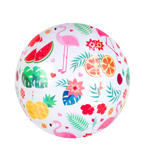 Kids Flamingo Paradise Beach Ball