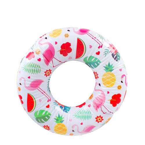 Flamingo Paradise Kids Inflatable Swim Ring